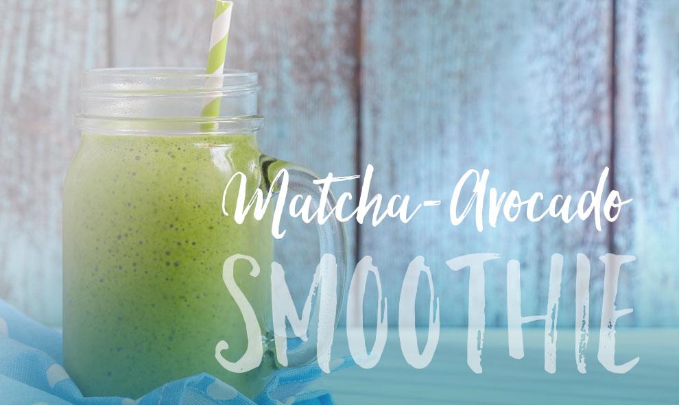 Matcha-Avocado Smoothie